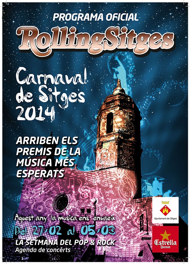 Programa Oficial Carnaval Sitges 2014